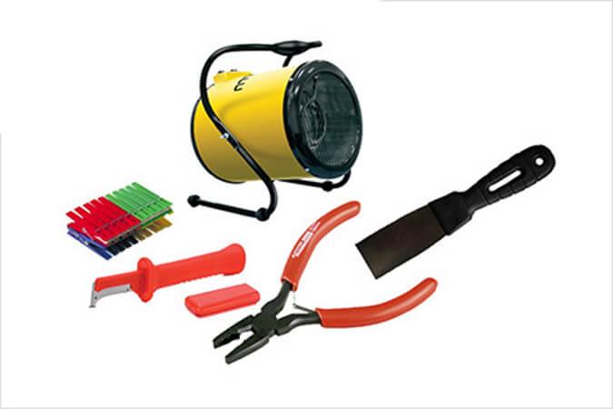 Инструмент для снятия натяжного потолка