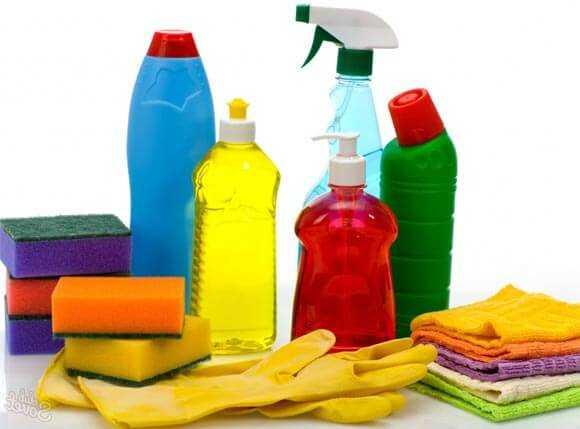 Средства для мытья потолка